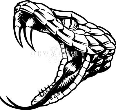 Rattlesnake head logo - photo#10