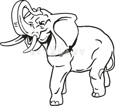 Elephant Trunk Up Drawing Elephant with trunk upAfrican Elephant Drawing Trunk Up